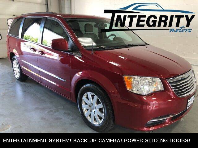 2016 Chrysler Town and Country for sale at Integrity Motors, Inc. in Fond Du Lac WI
