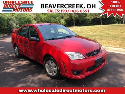 2007 Ford Focus for sale at WHOLESALE DIRECT MOTORS in Beavercreek OH