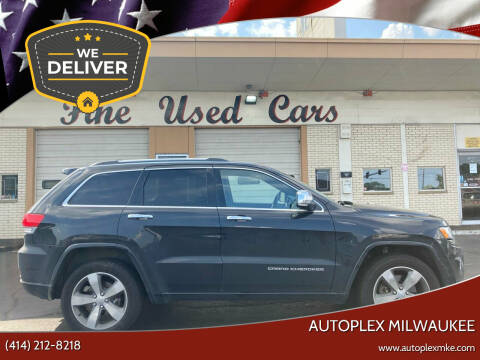 2016 Jeep Grand Cherokee for sale at Autoplexmkewi in Milwaukee WI
