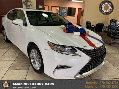 2018 Lexus ES 350 for sale at Amazing Luxury Cars in Snellville GA