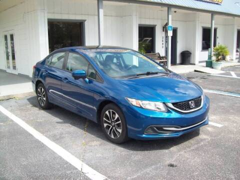 2015 Honda Civic for sale at LONGSTREET AUTO in St Augustine FL
