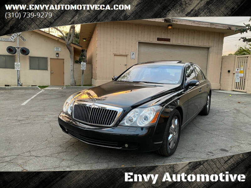 2008 Maybach 57 for sale at Envy Automotive in Studio City CA