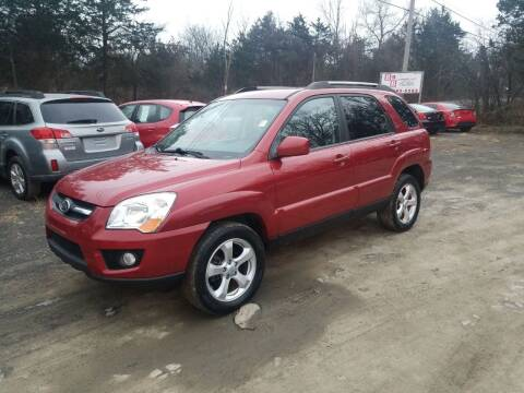2010 Kia Sportage for sale at B & B GARAGE LLC in Catskill NY