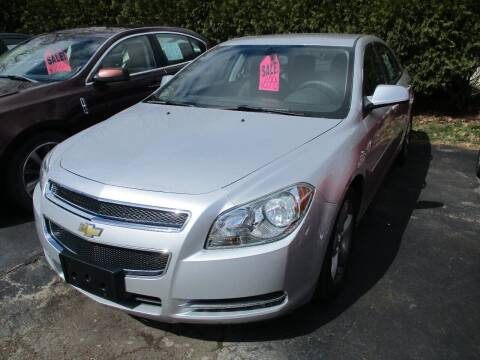 2011 Chevrolet Malibu for sale at SPRINGFIELD AUTO SALES in Springfield WI