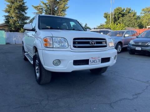 2004 Toyota Sequoia for sale at Ronnie Motors LLC in San Jose CA