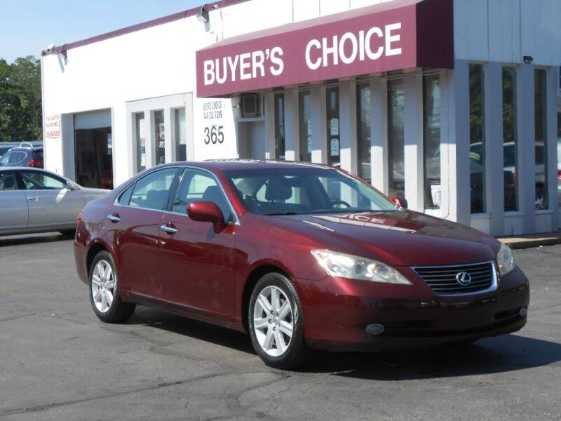 2007 Lexus ES 350 for sale at Buyers Choice Auto Sales in Bedford OH