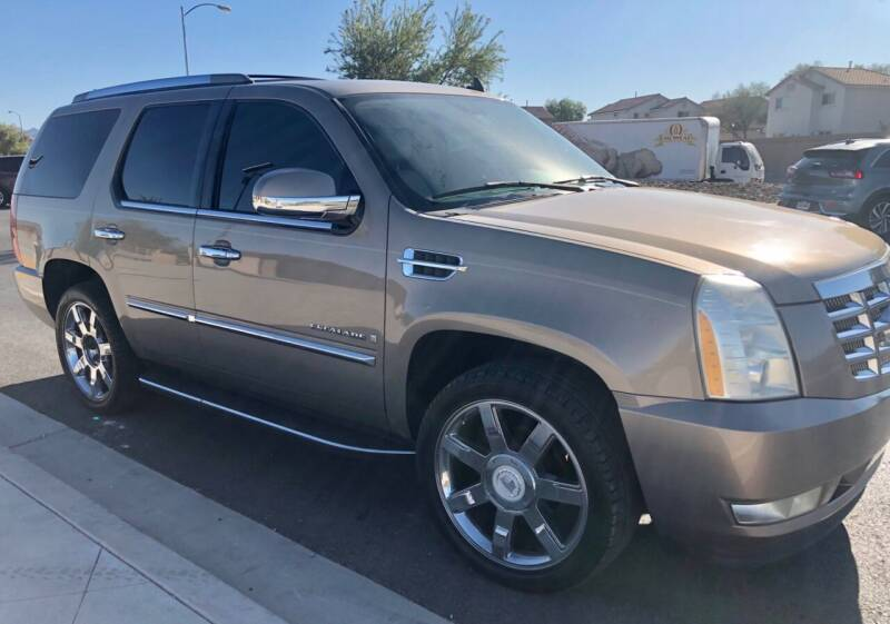 2007 Cadillac Escalade for sale at GEM Motorcars in Henderson NV