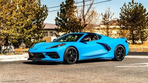 2021 Chevrolet Corvette for sale at MUSCLE MOTORS AUTO SALES INC in Reno NV