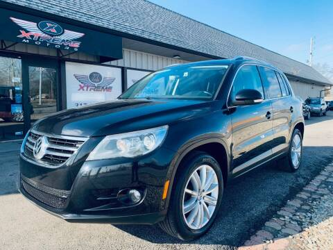 2011 Volkswagen Tiguan for sale at Xtreme Motors Inc. in Indianapolis IN