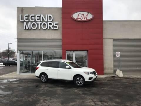 2018 Nissan Pathfinder for sale at Legend Motors of Detroit - Legend Motors of Ferndale in Ferndale MI