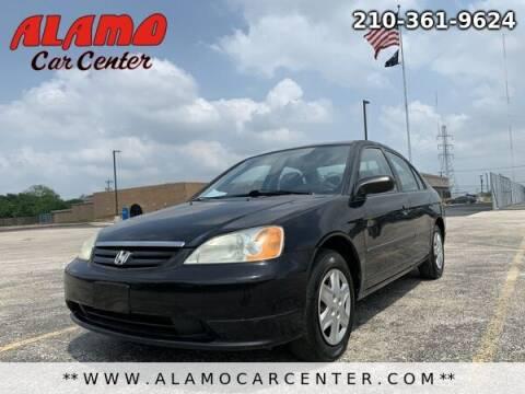 2003 Honda Civic for sale at Alamo Car Center in San Antonio TX