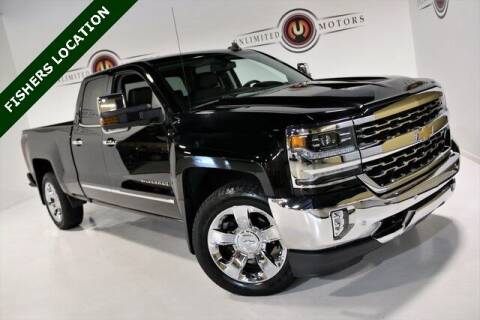 2017 Chevrolet Silverado 1500 for sale at Unlimited Motors in Fishers IN