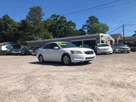 2009 Honda Accord for sale at Barrett Auto Sales in North Augusta SC