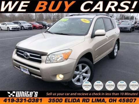 2007 Toyota RAV4 for sale at White's Honda Toyota of Lima in Lima OH