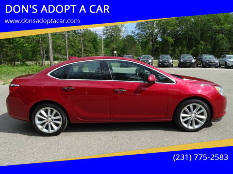 2016 Buick Verano for sale at DON'S ADOPT A CAR in Cadillac MI