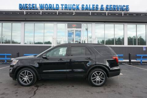 2017 Ford Explorer for sale at Diesel World Truck Sales in Plaistow NH