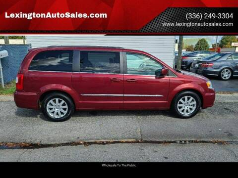 2015 Chrysler Town and Country for sale at LexingtonAutoSales.com in Lexington NC