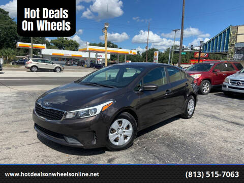 2017 Kia Forte for sale at Hot Deals On Wheels in Tampa FL