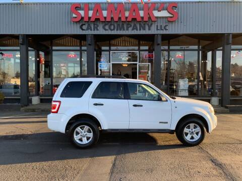 2008 Ford Escape Hybrid for sale at Siamak's Car Company llc in Salem OR