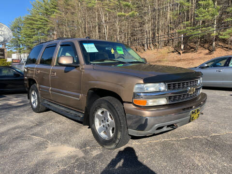 2004 Chevrolet Tahoe for sale at Bladecki Auto LLC in Belmont NH