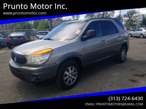 2002 Buick Rendezvous for sale at Prunto Motor Inc. in Dearborn MI