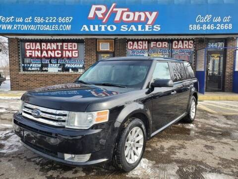 2009 Ford Flex for sale at R Tony Auto Sales in Clinton Township MI