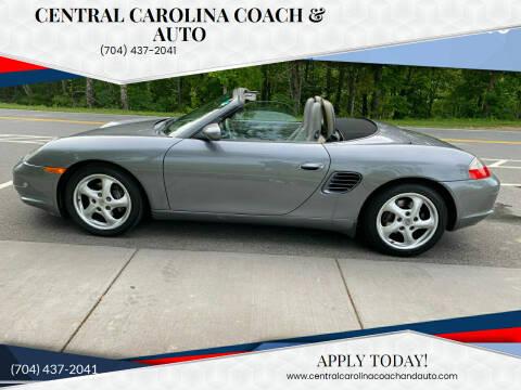 2003 Porsche Boxster for sale at Central Carolina Coach & Auto in Lenoir NC