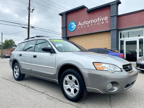 2007 Subaru Outback for sale at Automotive Solutions in Louisville KY