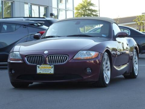 2004 BMW Z4 for sale at Loudoun Used Cars - LOUDOUN MOTOR CARS in Chantilly VA