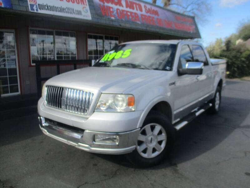 2006 Lincoln Mark LT for sale at Quick Auto Sales in Modesto CA