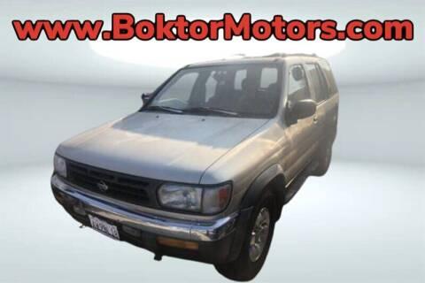 1998 Nissan Pathfinder for sale at Boktor Motors in North Hollywood CA