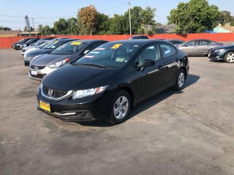 2015 Honda Civic for sale at Mega Motors Inc. in Stockton CA