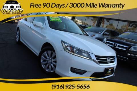 2014 Honda Accord for sale at West Coast Auto Sales Center in Sacramento CA