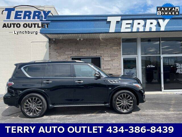 2017 Infiniti QX80 for sale at Terry Auto Outlet in Lynchburg VA