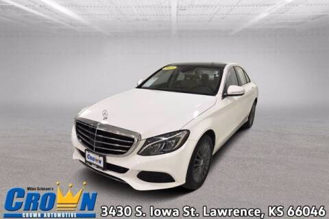 2015 Mercedes-Benz C-Class for sale at Crown Automotive of Lawrence Kansas in Lawrence KS