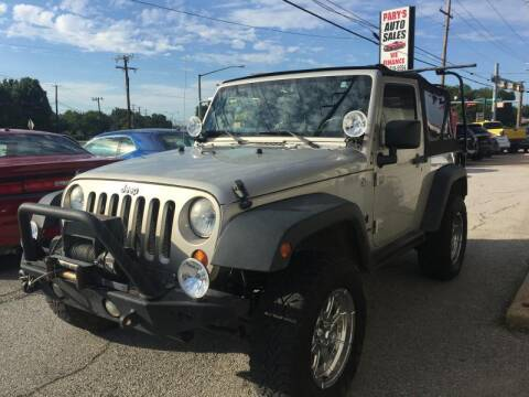 2007 Jeep Wrangler for sale at Pary's Auto Sales in Garland TX