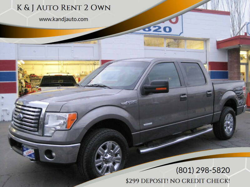 2012 Ford F-150 for sale at K & J Auto Rent 2 Own in Bountiful UT