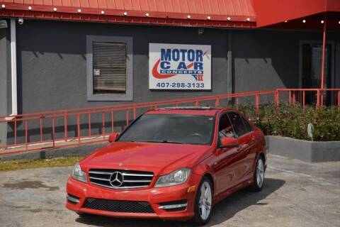 2014 Mercedes-Benz C-Class for sale at Motor Car Concepts II - Apopka Location in Apopka FL
