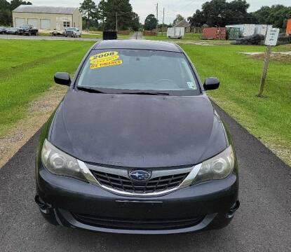 2008 Subaru Impreza for sale at Auto Guarantee, LLC in Eunice LA