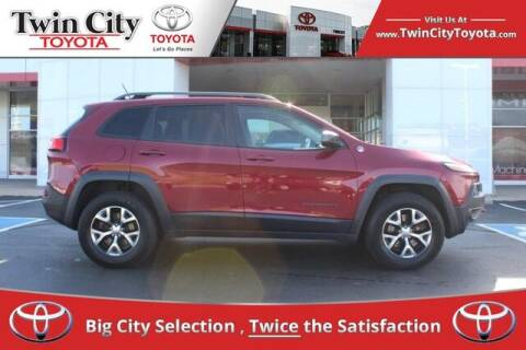 2014 Jeep Cherokee for sale at Twin City Toyota in Herculaneum MO