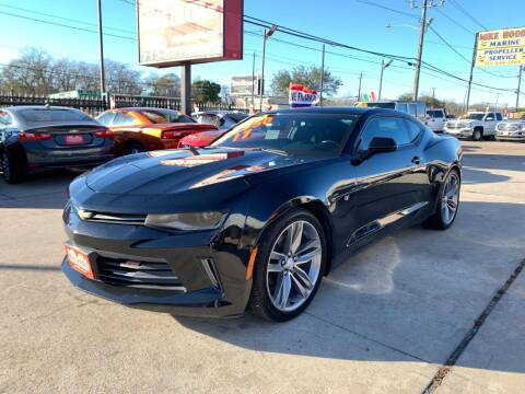2017 Chevrolet Camaro for sale at Alejandro Cars & Trucks in Houston TX