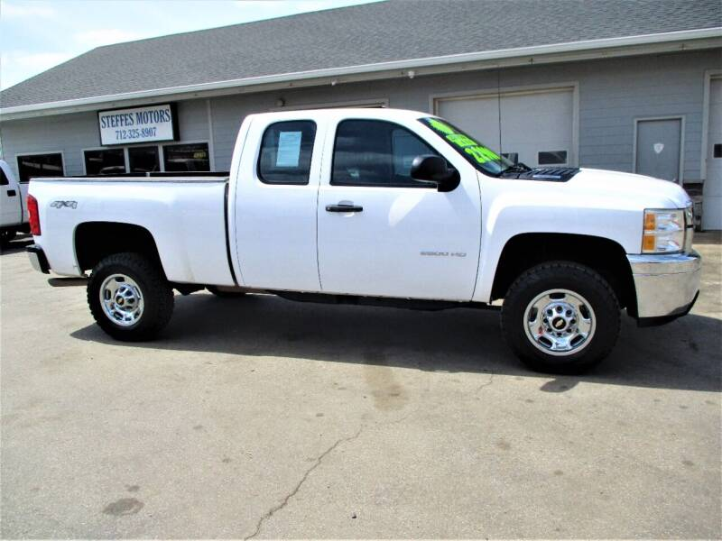 2011 Chevrolet Silverado 2500HD for sale at Steffes Motors in Council Bluffs IA