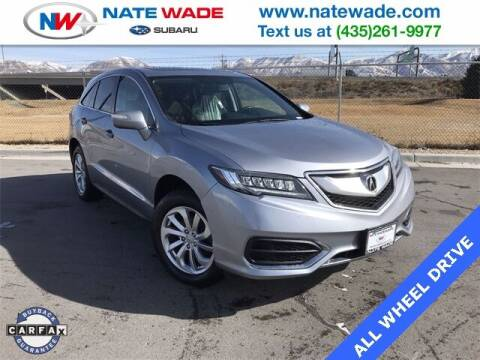 2016 Acura RDX for sale at NATE WADE SUBARU in Salt Lake City UT