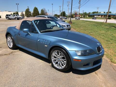 2002 BMW Z3 for sale at Haynes Auto Sales Inc in Anderson SC