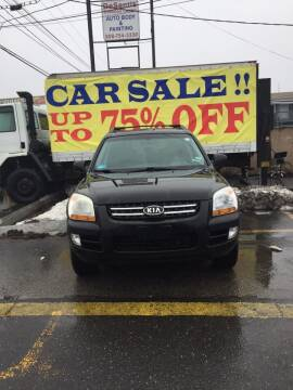 2007 Kia Sportage for sale at Budget Auto Deal and More Services Inc in Worcester MA