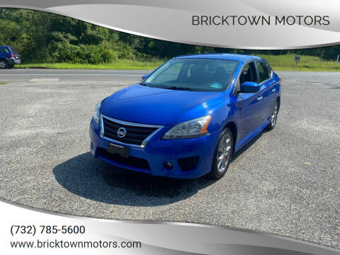 2013 Nissan Sentra for sale at Bricktown Motors in Brick NJ