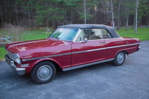 1963 Chevrolet Nova for sale at Essex Motorsport, LLC in Essex Junction VT