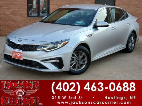2019 Kia Optima for sale at Jacksons Car Corner Inc in Hastings NE