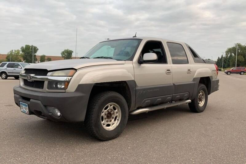 2004 Chevrolet Avalanche for sale at Capital Fleet  & Remarketing  Auto Finance in Columbia Heights MN