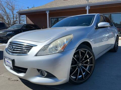 2013 Infiniti G37 Sedan for sale at Global Automotive Imports of Denver in Denver CO